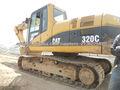 oruga usada 320c excavadora de cobista hidráulica