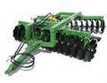 1bz hidráulico de elevación off-set pesado- obligación de rastra de discos para tractores caliente para la venta