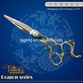 Novo estilo de dragão gravado tatuagem de cabelo tesouras dr-105