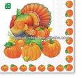 colheita dia de halloween decoração de artigos para festas de guardanapo impresso fabricantes