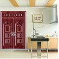 puerta de madera de acero ( YF-DK12)