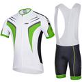 meilleure qualité 2014 cheji vêtements de cyclisme maillot manches courtes cuissard mis en gros breatherable fibre de lait sport