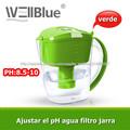 jarra con filtro de agua con filtro alcalino