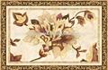 egipto carpe pulido de cerámica con flores amarillas y hojas 1200mmx1800mm