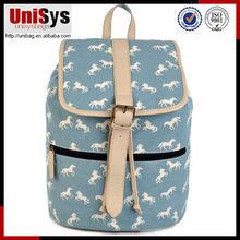 Nueva Promoción de productos mochila escolar de las niñas