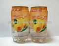 mango sabor y agua con gas en 340ml pet
