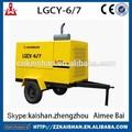 alta pressão de mineração usado compressor de ar do motor diesel para venda
