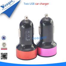 inteligente cargador de coche colorido del usb