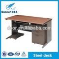 venta al por mayor de metal de acero de madera de oficina escritorio del ordenador portátil