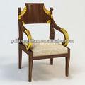 silla exclusivo hotel de madera HDAC010