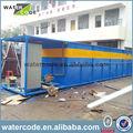 maquinaria compacta de mbr para aguas residuales