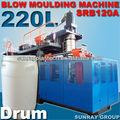 220l moldeo por extrusión soplado máquina de polietileno de alta densidad para el tambor