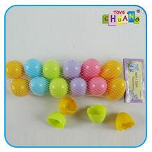 La promoción de la cápsula de plástico de juguete, de plástico vacío cápsula, pequeños juguetes de plástico