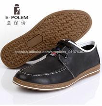 E.POLEM 2013 men casual flat leather shoe