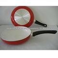 rojo de aluminio cerámica utensilios de cocina