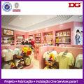 roupa dos miúdos de madeira shopping de design de moda doce loja de decoração