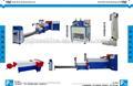 2014 venta caliente máquina de granulación de plástico reciclado