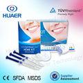 CE aprobó mejores bandejas dientes blanqueadora usada dientes para blanquear los dientes kit casero