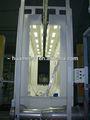 rápido cambio de color automático de plástico de recubrimiento en polvo spray booth