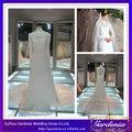 Cuello alto real vestido de novia Pictures completo encaje de manga larga musulmán vestido de novia vestido de novia de Alibaba