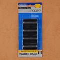 Bolsas negras biodegradables para heces