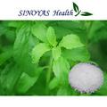 polvo de stevia, endulzante natural, el azúcar de la salud