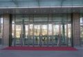 Puertas de aluminio para centro comercial