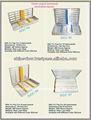 Dental de cassette para la esterilización/dental bandejas de instrumentos