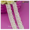 Suizo de moda esmalte de guipur torchon 100% bordado de encaje bordado corte