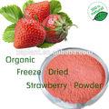 100% de agua- soluble en polvo de fresa/liofilizado en polvo de fresa