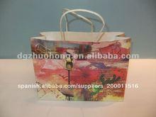 personalizado bolsas artesanales de papel