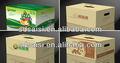 Papel kraft marrón caja de cartón corrugado para el envío, de cartón fabricante de la caja