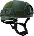 Od verde táctica casco de combate, multifunción gafas de visión nocturna casco del ejército