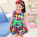 2014 nuevo estilo de vestidos de niños/los niños ropa caliente/loveslf