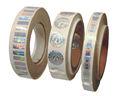 Producto etiqueta holográfica, etiqueta engomada transparente del laser