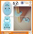 oso azul de diseño de dibujos animados bebé puerta de guardia