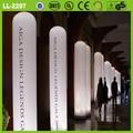 Decoración caliente Logo impreso CE modificado para requisitos particulares columna inflable de la iluminación