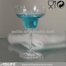 ( asg2709) 295ml/9oz europeo seguro bebida libre de plomo de cristal de vidrio margarita gafas de venta al por mayor