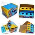 caixas da pizza, caixa do bolo, caixas de chocolate e biscoito
