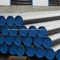 API 5L & ASTM A106 GR.B aço carbono tubos sem costura de petróleo e gás industrial