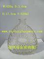 Frasco de vidrio 520ml beber