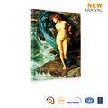 Pared decorativo grasa abstracto pintura del arte de la lona cuerpo desnudo