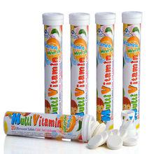 Fabricante de China, GMP certificada Multivitaminas y comprimidos efervescentes minerales , suplementos alimenticios, nutrición