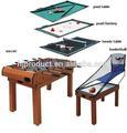 5 1 en mdf de entretenimiento multi juego de mesa para los niños