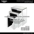 Mesas estilo caliente espejo MDF anidación modernos