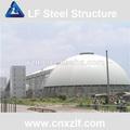 chinois toiture charpente en acier pour le charbon de stockage
