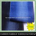 Indigo denim sarga de tela / tela de jeans 14 onz.