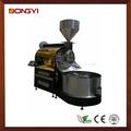 60kg açoinoxidável torrador de café industrial