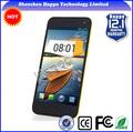 Mtk6582 quad core, android 4.2( con nfc) dual flash de la cámara de luz de teléfono móvil