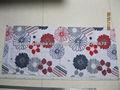 ropa de cama de tejido estampado floral